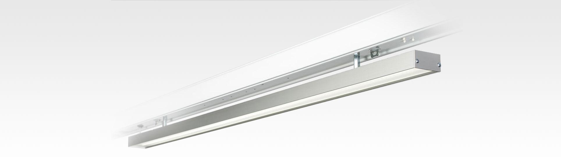 LED Linienleuchte LOGIC Glas Linelight