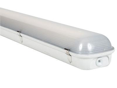 LED Feuchtraumleuchte LOGIC Glas